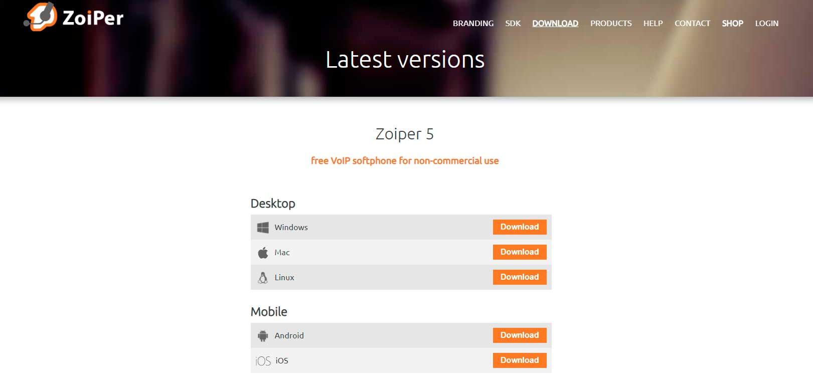install zoiper download