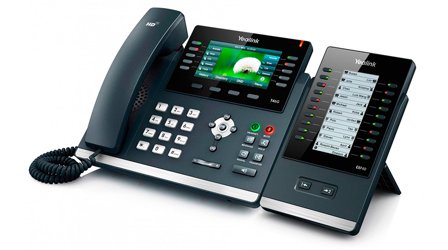 Phone T46S EXP40 for recepcionist