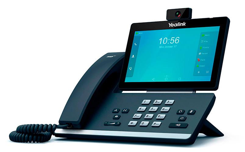 Phone T58V videoconference